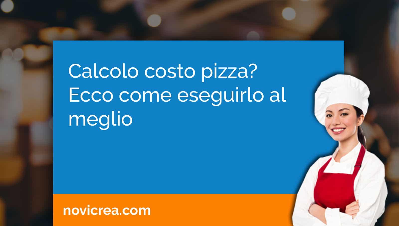 calcolo costo pizza