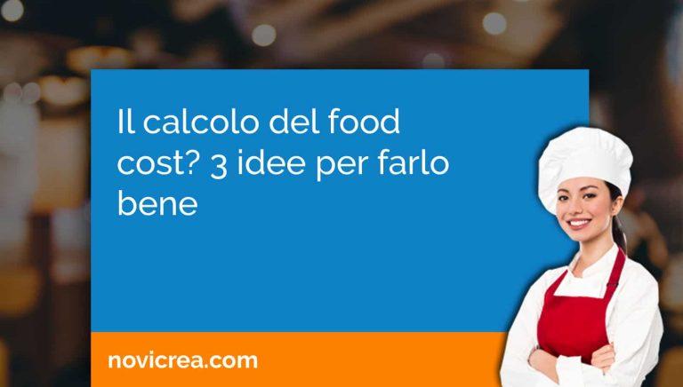 calcolo del food cost
