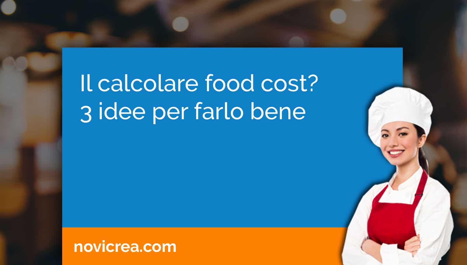 calcolare food cost